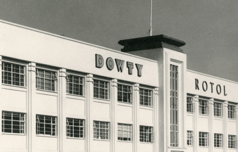 Dowty Reorganisation Forecast -1959