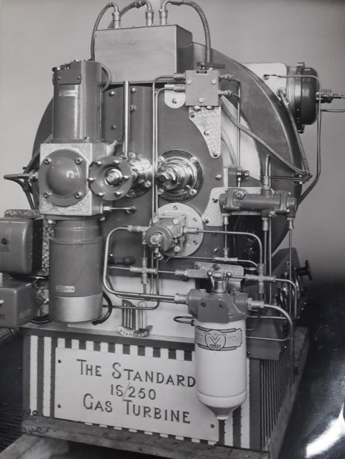 An engine with Dowty Fuel Systems equipment