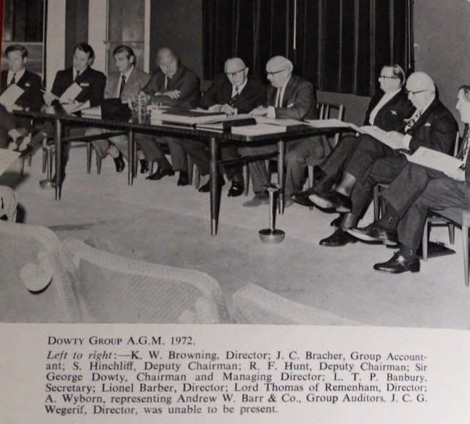 Dowty Group AGM 1972