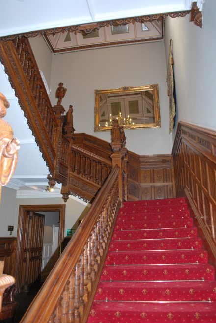 Arle Court House - Main Staircase | J W Redfern