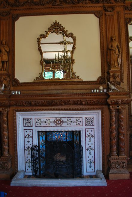 Arle Court House - Dining Room Fireplace | J W Redfern