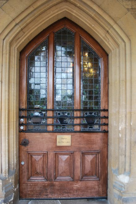 Arle Court House - Front Door | J W Redfern