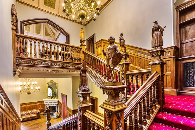 Arle Court House - Main Staircase