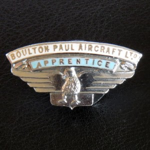Boulton Paul - Apprentice Badge