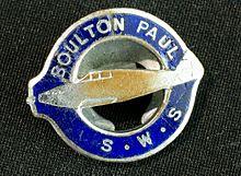 Boulton Paul - War Service Badge