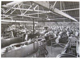 Boulton Paul - Fuselage Assembly Line