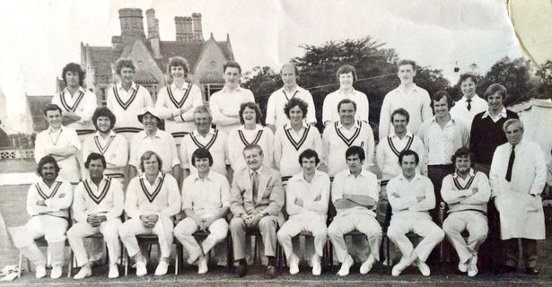 The day Imran Khan, Mike Proctor and Allan Border played with Dowty Arle Court Cricket Club - but can you spot them?