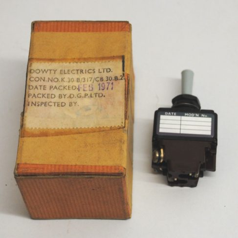 Dowty Electrics - Selector switch