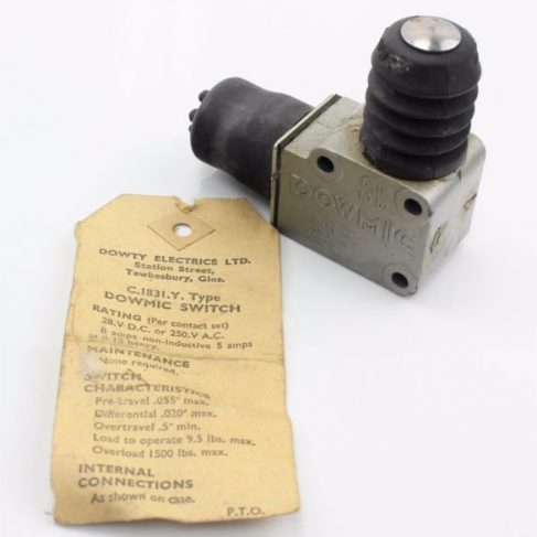 Dowty Electrics - Dowmic Switch