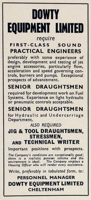Dowty Equipment - Jobs Advert