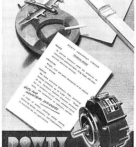 Dowty Equipment Publication - Live Line Hydraulic Pump