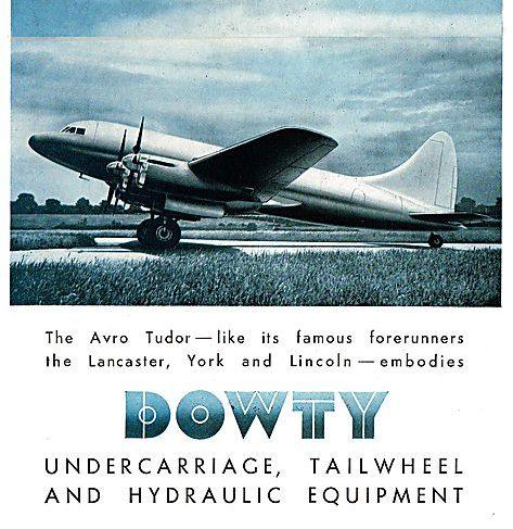 Dowty Equipment Publication - The Avro Tudor