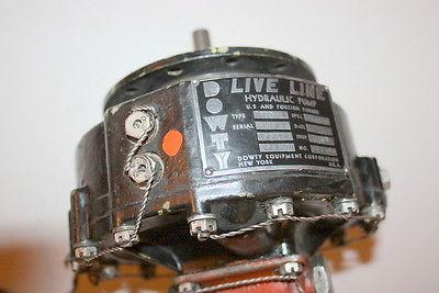 Dowty Live Line Pump