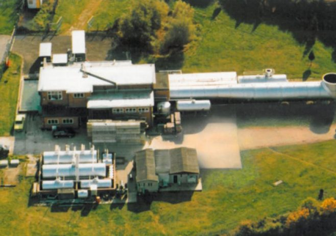 Jet Test Cell at Staverton Airport, Gloucester