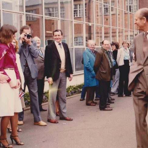 Dowty Fuel Systems - Visit of Duke of Edinburgh at Arle Court