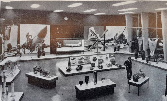 Dowty Group - Photo of Arle Court Exhibition Hall