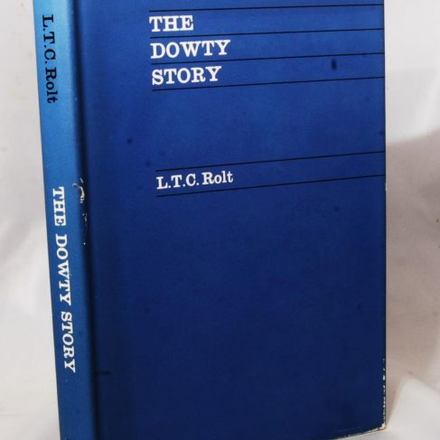 Dowty Group - Photo of book by L T C Bolt The Dowty Story