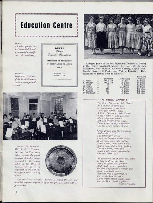 Secretarial Training School