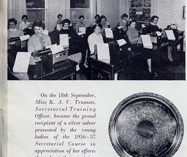 Secretarial Training School
