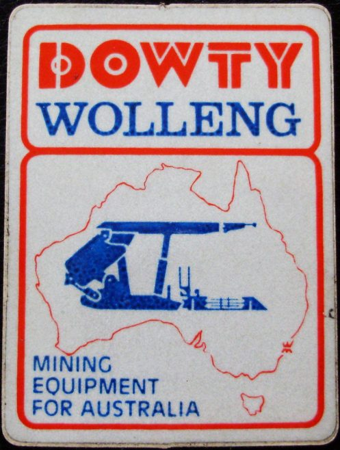 Dowty Mining Equipment Wolleng Australia - Publication