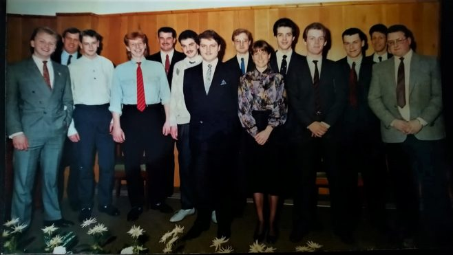 Dowty Mining Apprentices 1988 - Indenture Award Evening
