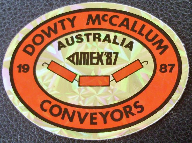 Dowty McCallum Conveyors - Publication
