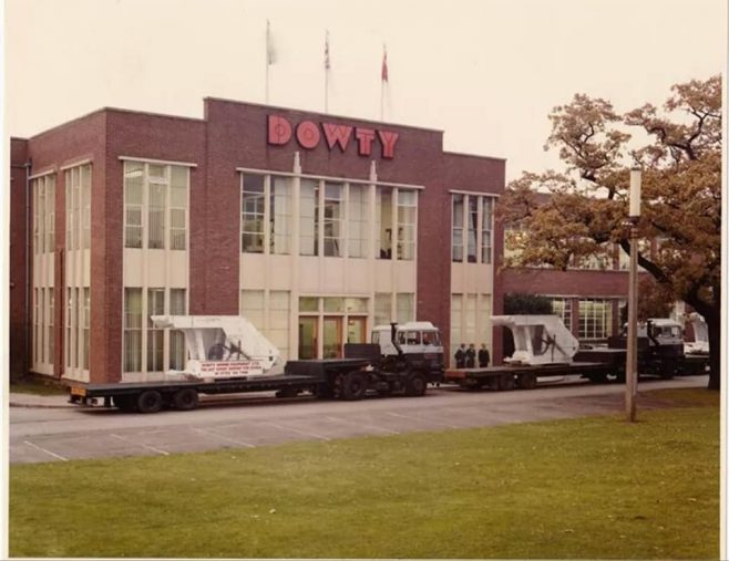 Dowty Mining Equipment - Ashchurch Offices