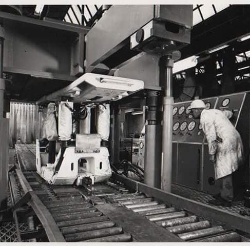 Dowty Mining Equipment - Works Production