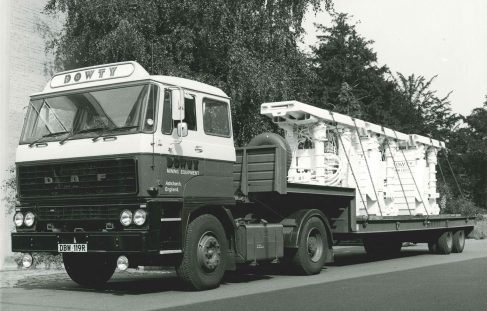 It's DAF Trucks All The Way For Dowty Mining - 12th June 1978