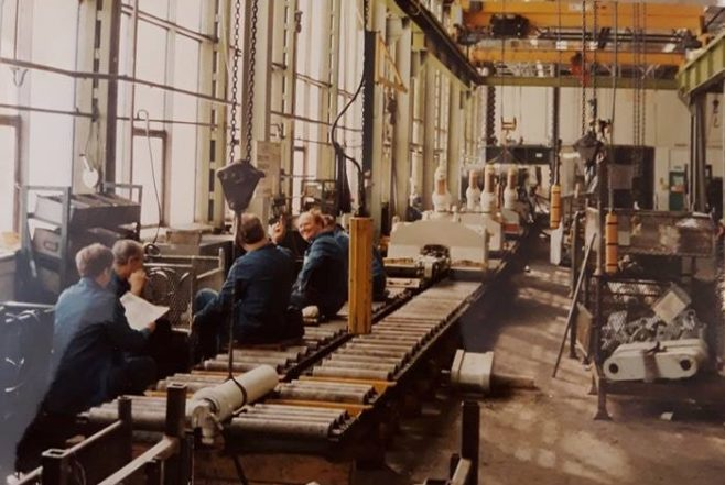 Dowty Mining - Works Production