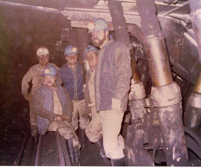 Dowty Mining Equipment - Mimosa coal mine in Mexico mid 1980's