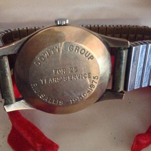 Dowty Mining Equipment - Bob Sallis Gold Watch