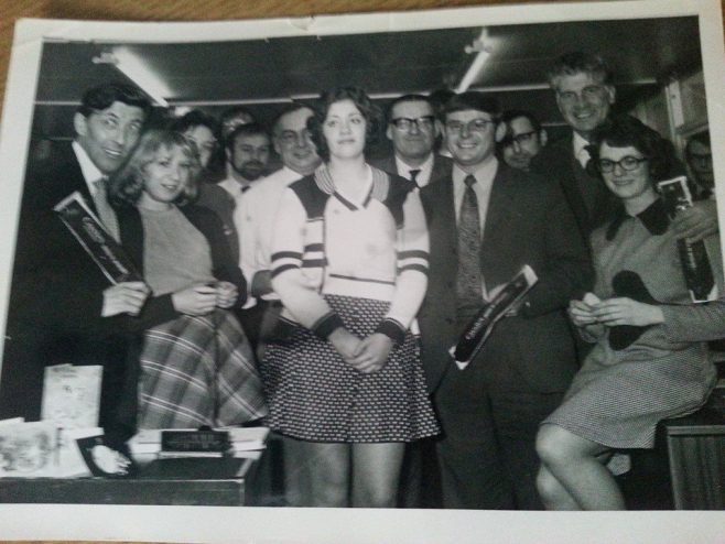 Dowty Mining Equipment 1974  Buying Team Queens Award Presentation