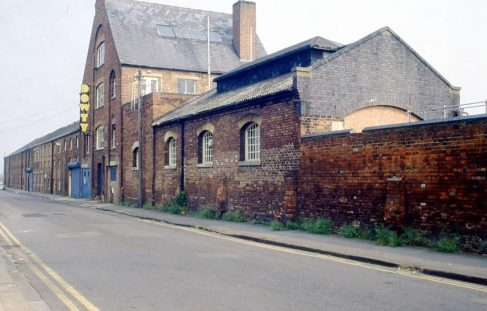 Old Dowty factory in Station Street, Tewkesbury