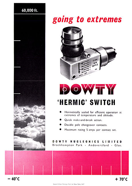 Dowty Nucleonics - Hermic Switch