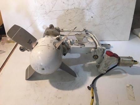 Ex MOD Dowty Rotol Tornado Ram Air Turbine PART: 680409002 SERIAL: DRG1522/89
