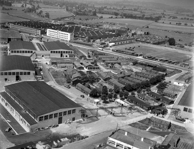 Dowty Rotol - Aerial Photo circa 1950