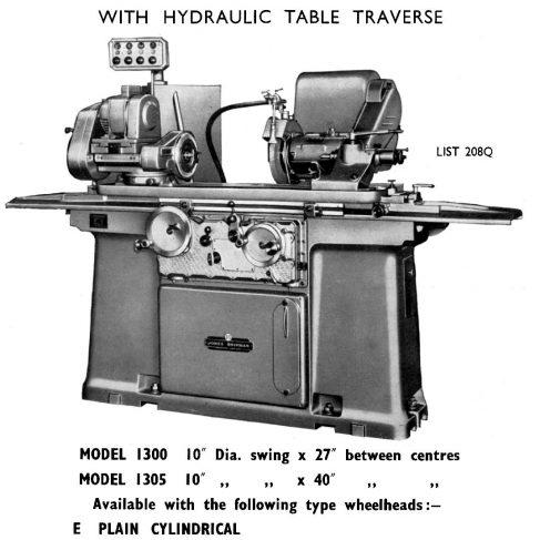 Jones & Shipman Cylindrical Grinder