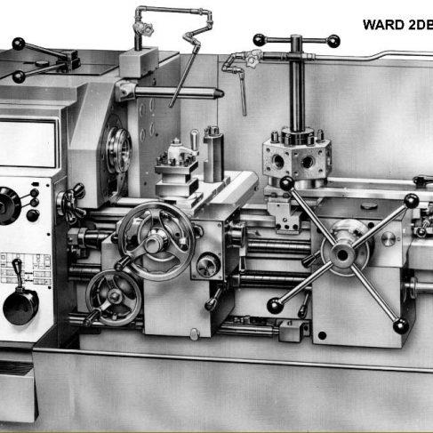 Ward 3DB Capstan