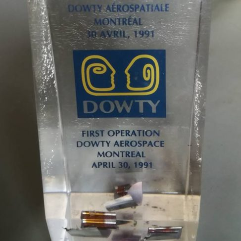 Dowty Montreal - Facility Opening Commemorative Gift | John Herring