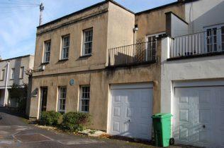 Blue Plaque Location: Mews End, 10 Lansdown Terrace Lane, Cheltenham