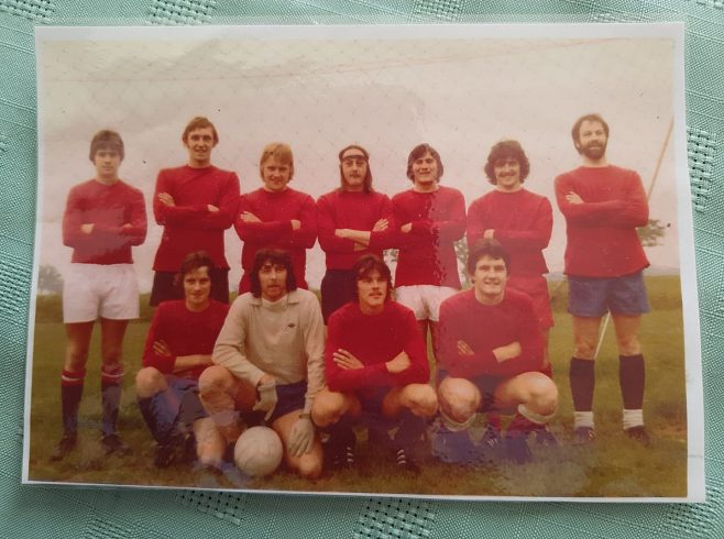 Dowty Rotol Inter-Departmental Football around 1978.