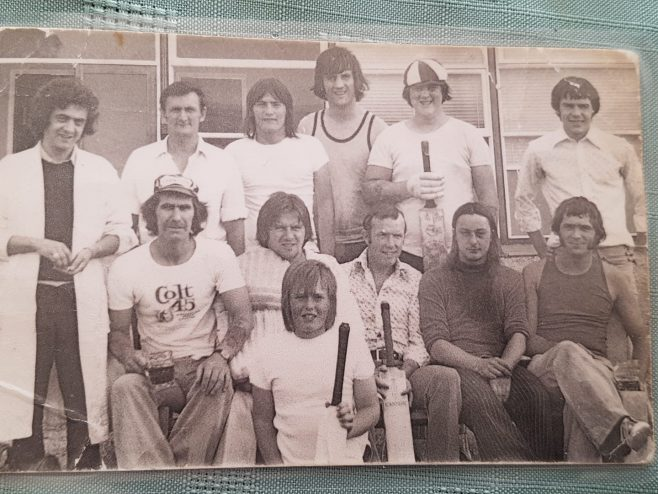 Dowty Rotol Inter-Departmental Cricket Team. 1978
