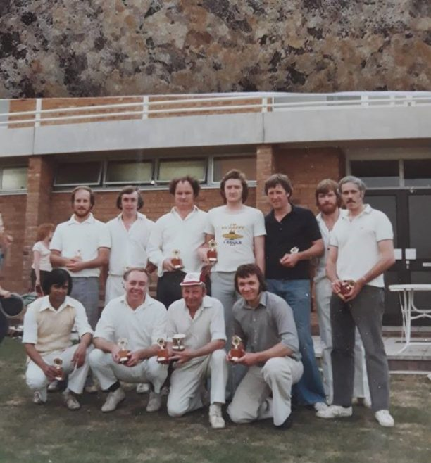 DFS Machine Shop Interdepartmental Cricket Team Final 1979