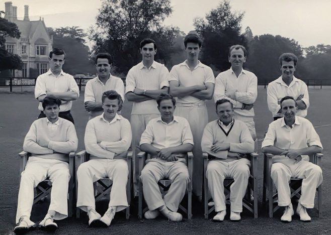 Dowty Electrics Interdepartmental Cricket Team (circa 1965/1968)