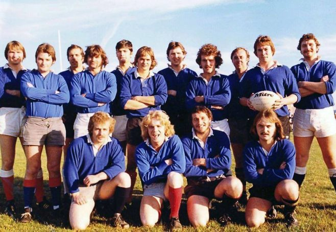 Dowty Rotol Repair - Inter-Departmental Rugby Team early 80's