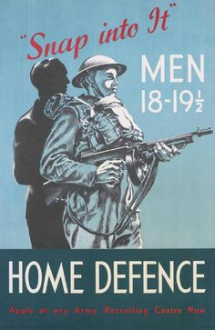 Home Defence Poster
