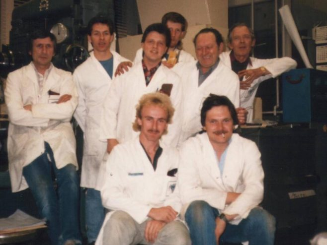 Dowty Fuel Systems, Arle Court cir. 1990. Jig Borers