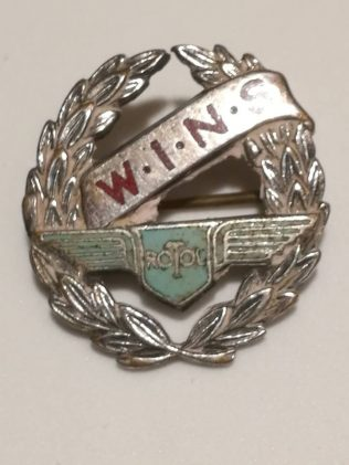 Rotol War Service Badge - WINS (Women In National Service) | S N Tolley