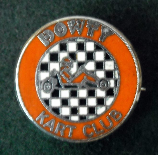 Dowty Kart Club Badge